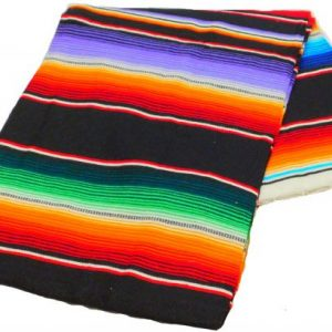 Sarape Blanket, blacksarape_57