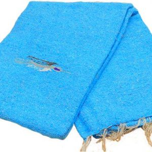 Thunderbird Blanket, blue_thunderbird