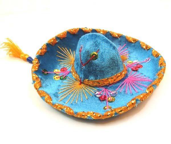 Charro Hat Mini   Mexican Mariachi Velvet Charro Hat   Vel-Mex