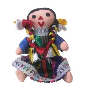 Mexican Handmade Cloth Dolls, mariadollmd