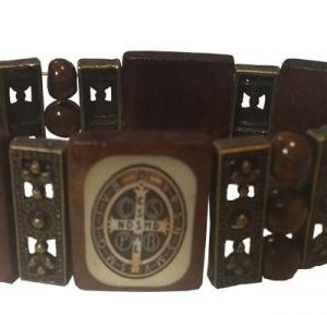 Wood Saint Bracelet, woodenbracelet