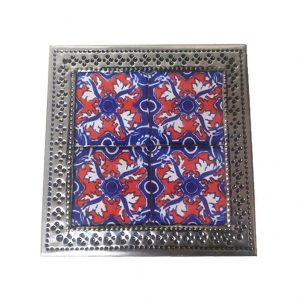 Tin Jewelry Box, tinjwe4tile2
