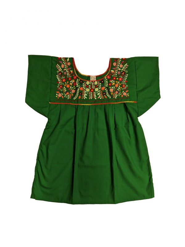 Mexican Chanel Style Blouse, chanelmgreen
