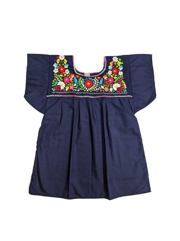 Mexican Chanel Style Blouse, chanelmnavy