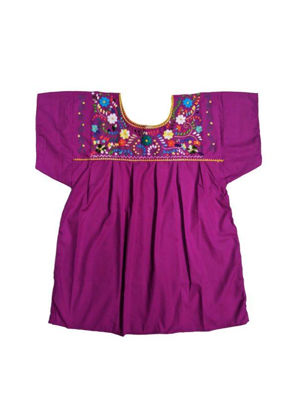 Mexican Chanel Style Blouse, chanelpurplel