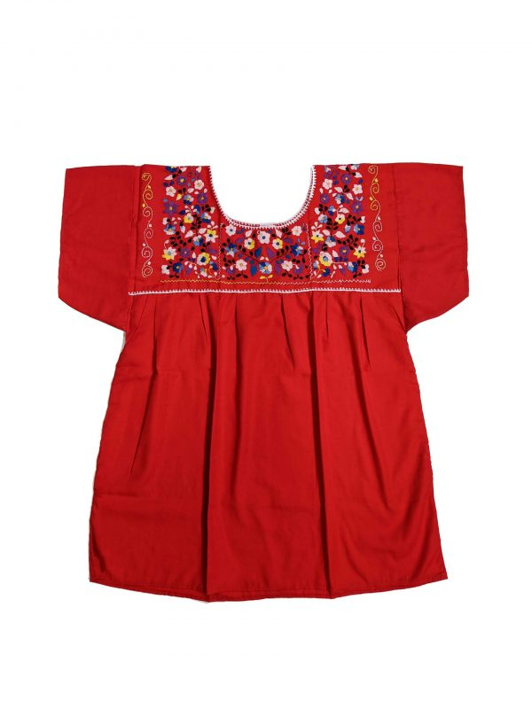 Mexican Chanel Style Blouse, chanelredl