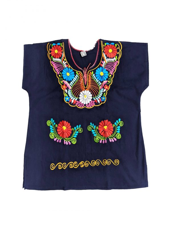 Mexican Kimono Style Blouse, kimazulml