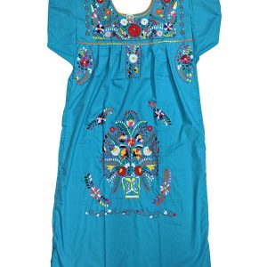 Mexican Chanel Style Dress,chaneldresslblue