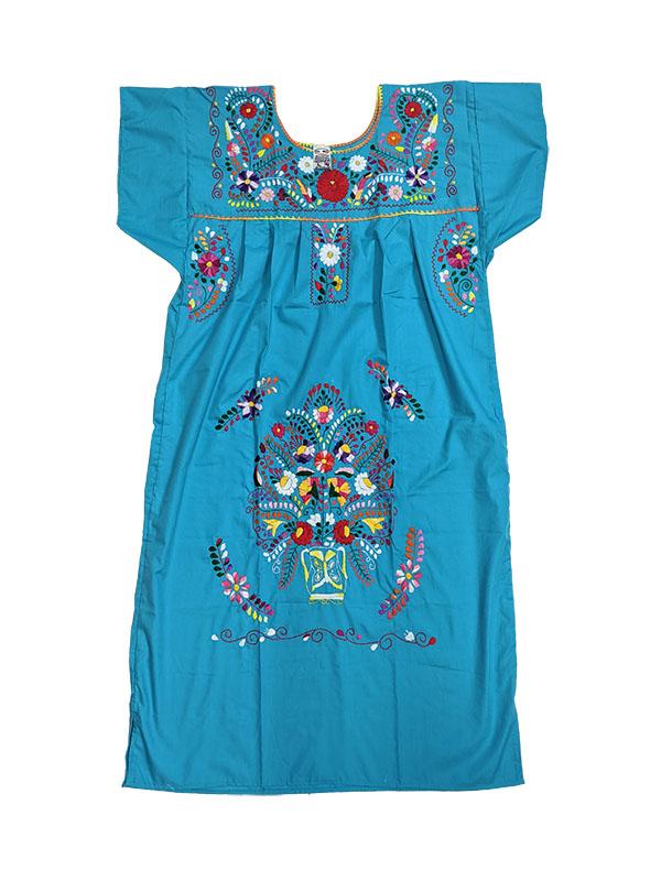 Mexican Chanel Style Dress,chaneldresslblue