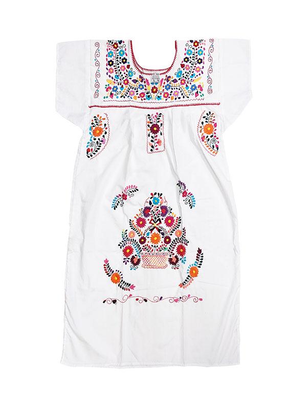 Mexican Chanel Style Dress, chanel style dress, chaneldresslwhite